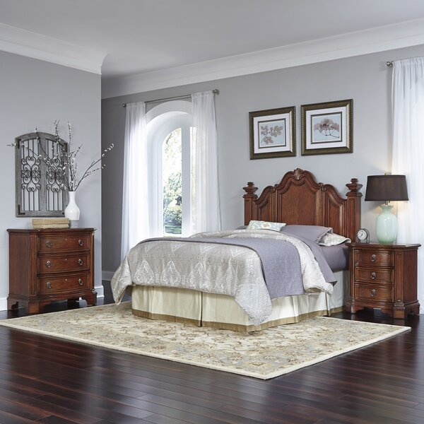 Santiago Platform 3 Piece Bedroom Set by Home Styles