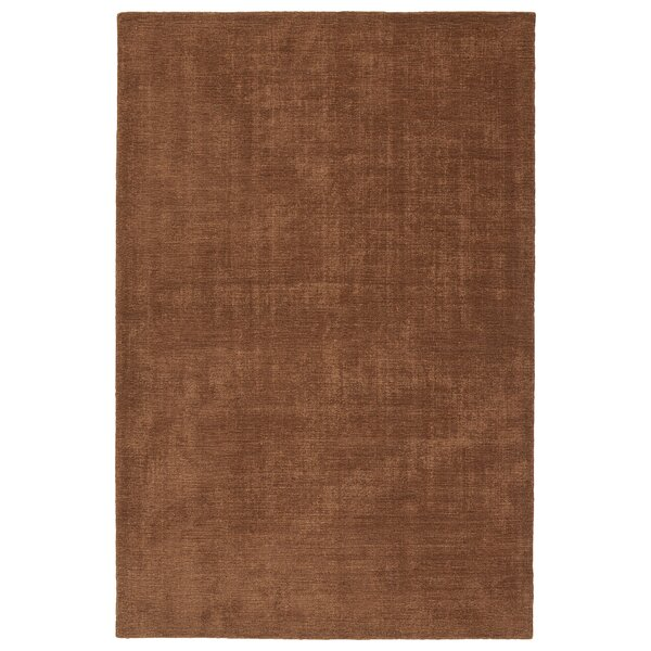 Borica Hand-Loomed Light Brown Indoor/Outdoor Area Rug by Ebern Designs