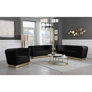 McAlester Configurable Living Room Set by Everly Quinn