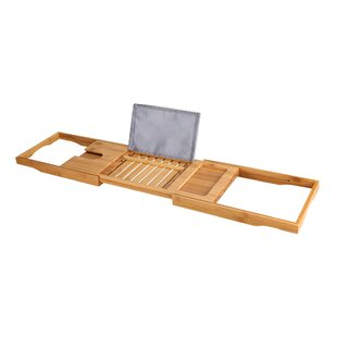 Comparison Seadrift Bathtub Caddy Tray with Extending Sides By Winston Porter