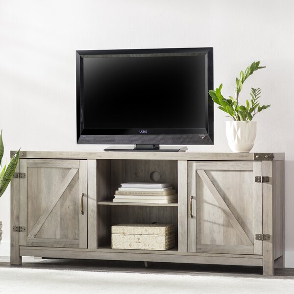 Adalberto TV Stand for TVs up to 65 with Fireplace by Trent Austin Design