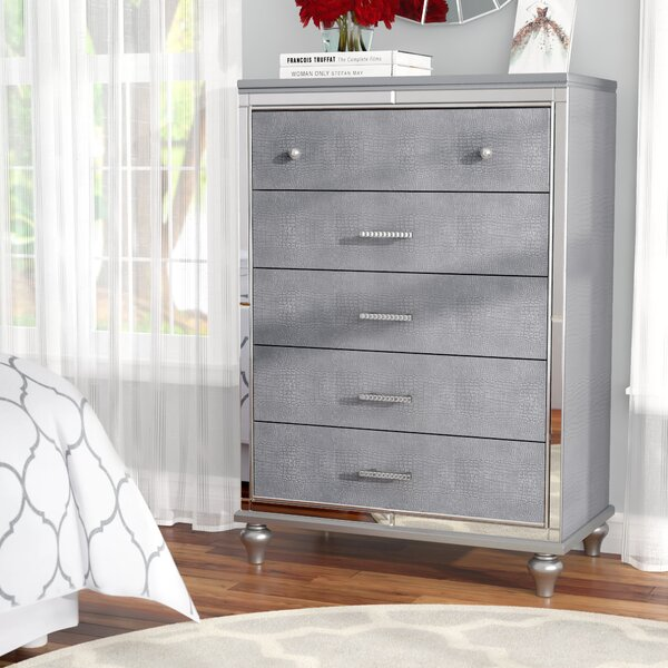 Valencia 5 Drawer Chest by Willa Arlo Interiors