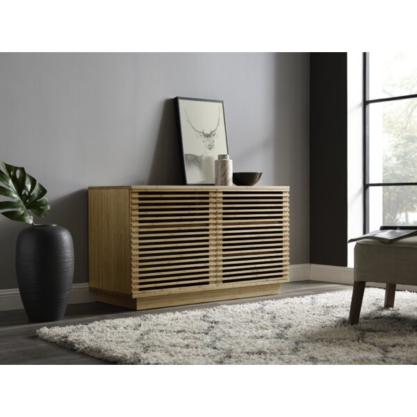 Rowan Solid Wood TV Stand For TVs Up To 55