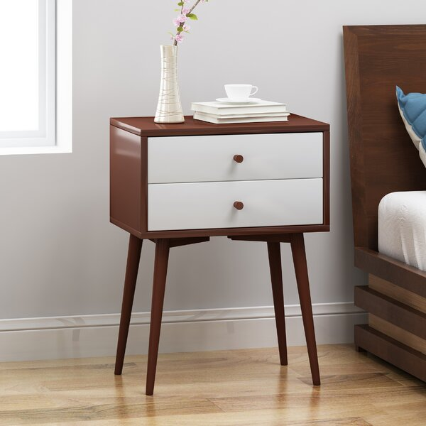 Eller End Table with Storage by George Oliver George Oliver