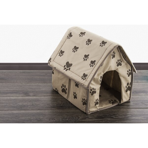 Colonel Portable Decorative Comfortable Hooded Dog Bed by Tucker Murphy Pet