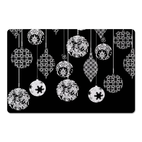 Deberry Ornaments Kitchen Mat