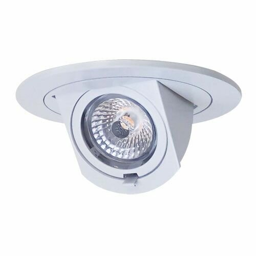 Round Adjustable Pull-Down Insert 4 LED Recessed Trim by Elco Lighting