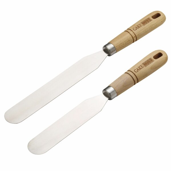 2 Piece Icing Spatula Set by Cake Boss