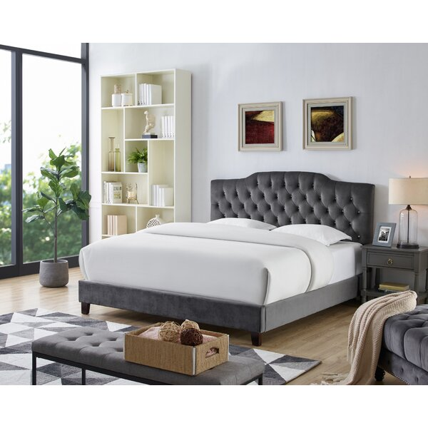 Leyva Upholstered Standard Bed by Alcott Hill