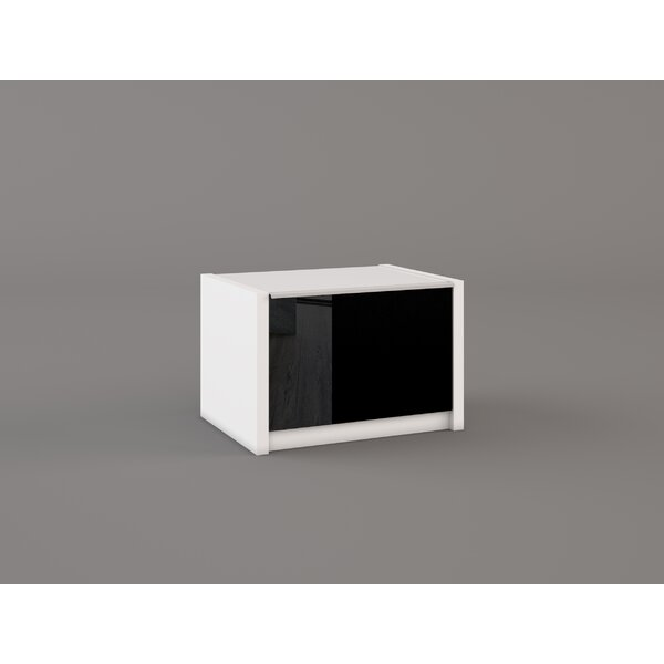 Shmavon 1 Drawer Nightstand by Orren Ellis