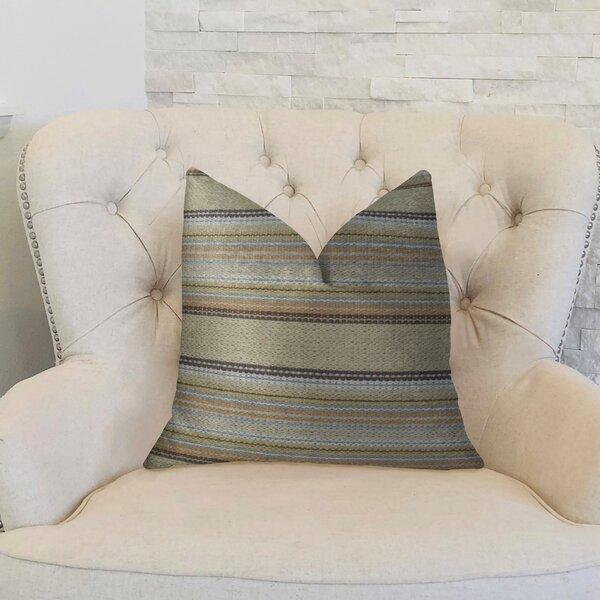 Camp Evergreen Handmade Throw Pillow by Plutus Brands