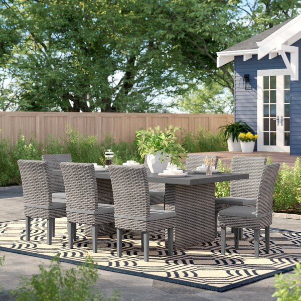 Rochford 9 Piece Dining Set by Sol 72 Outdoor