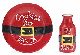 Cookies and Milk for Santa Gift Set by burton + BURTON