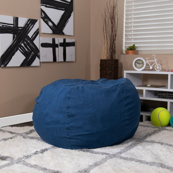 Large Classic Bean Bag By Harriet Bee