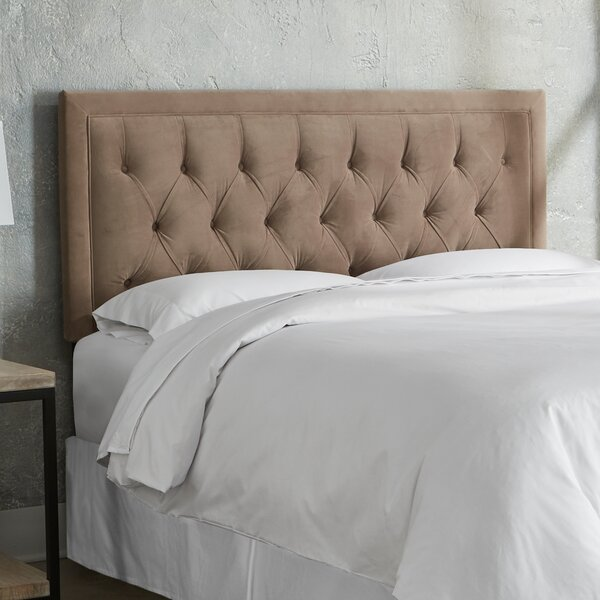 Leahy Upholstered Panel Headboard by Everly Quinn