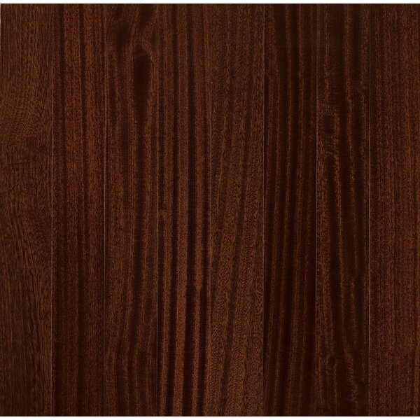 Global Exotics 3-1/2 Engineered Exotic Hardwood Flooring in African Mahogany Burnished Sable by Armstrong Flooring