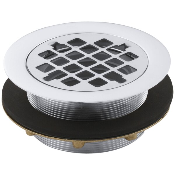 Round 2 Grid Shower Drain by Kohler
