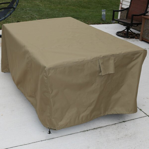 Square Dining Patio Table Cover by Freeport Park