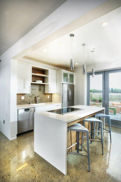 photos by Dave Adams Modern & Contemporary Kitchen Design