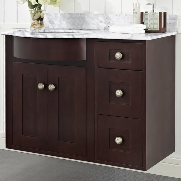 Kester Transitional 36 Rectangle Bathroom Vanity by Darby Home Co