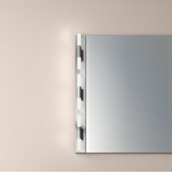 Crystal Rods 6-Light LED Bath Bar by Sonneman