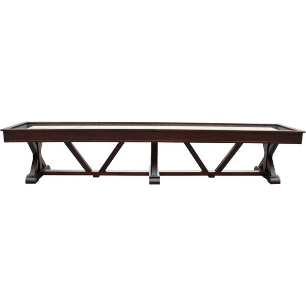 Brazos River Espresso Pro-Style Shuffleboard Table