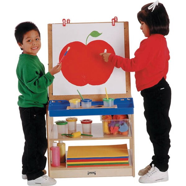 Thrifty KYDZ Double Sided Board Easel by Jonti-Craft