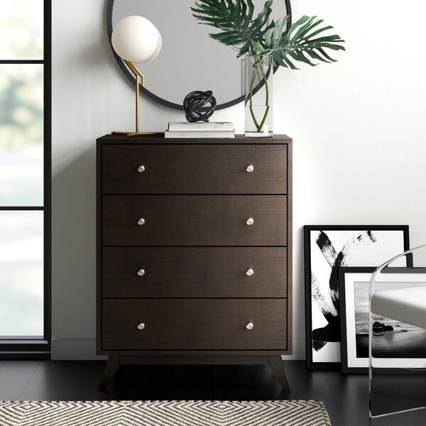 Astra 4 Drawer Chest by Mercury Row