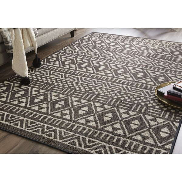 Madrid Dark Brown Area Rug by Union Rustic