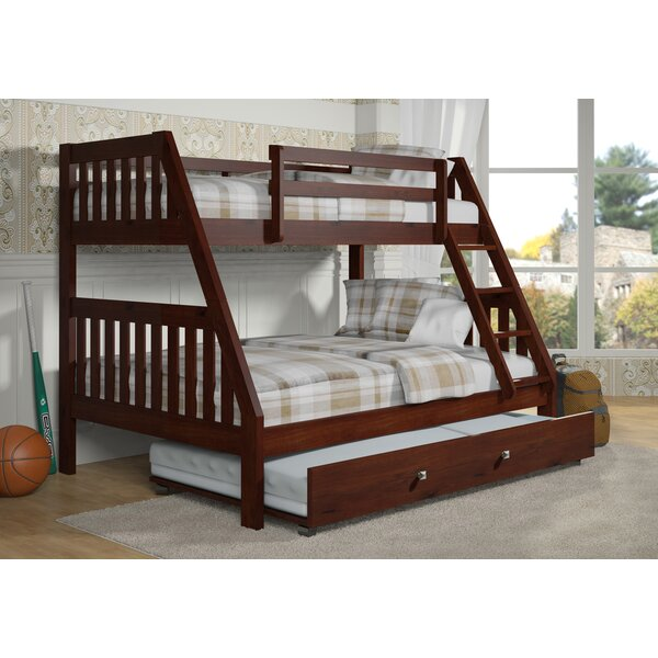 Chancey Twin over Full Bunk Bed with Trundle by Harriet Bee