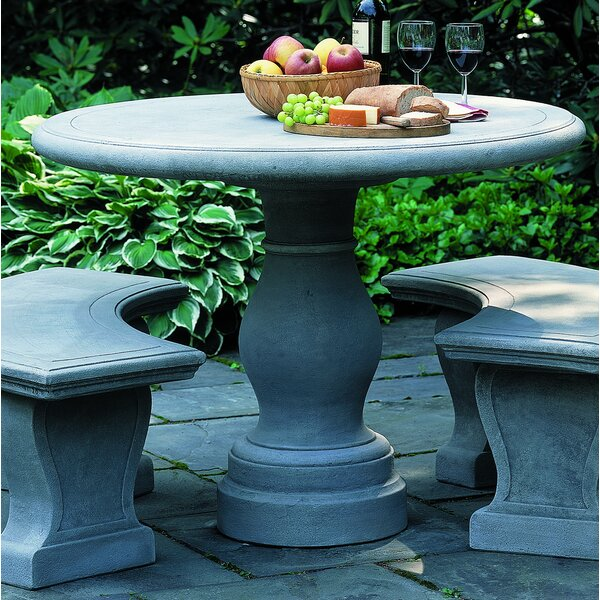 Palladio Stone/Concrete Bistro Table by Campania International