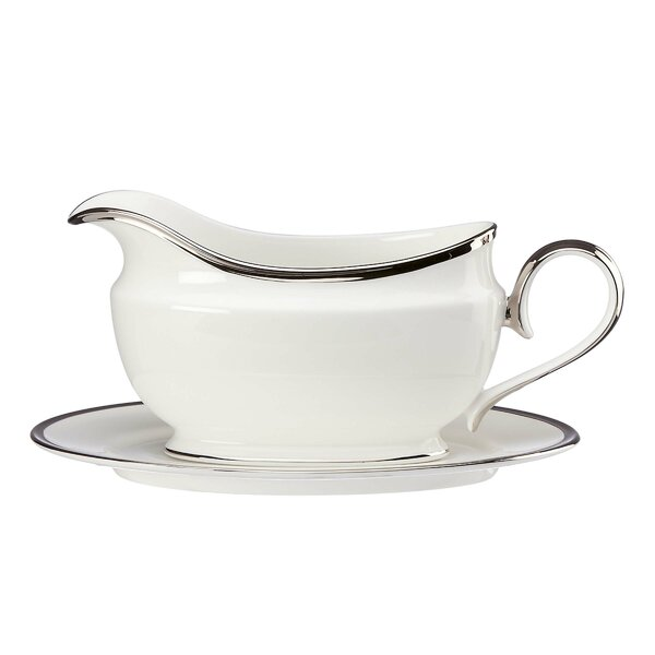 Soiltaire Gravy Boat by Lenox