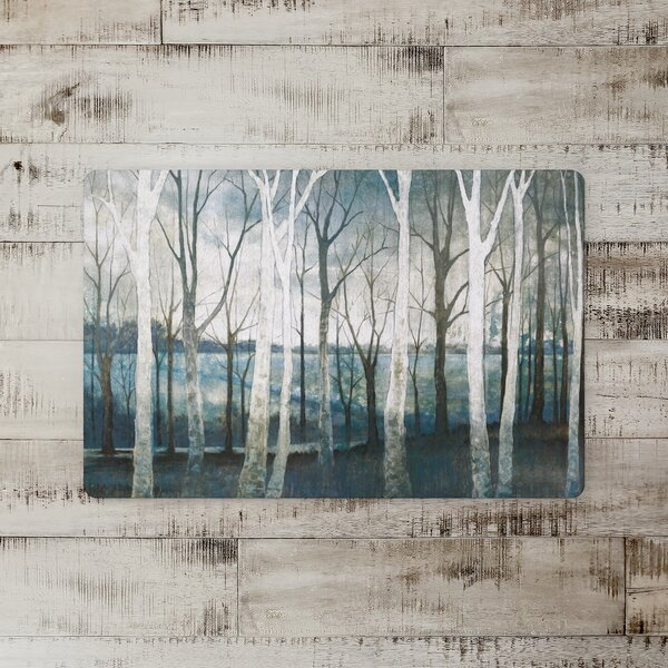 Moraine Tree Path Kitchen Mat
