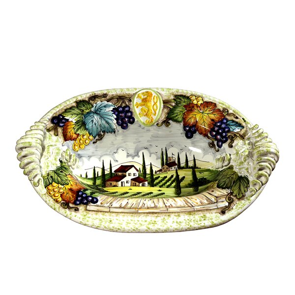 Toscana Oval Platter by Intrada Italy