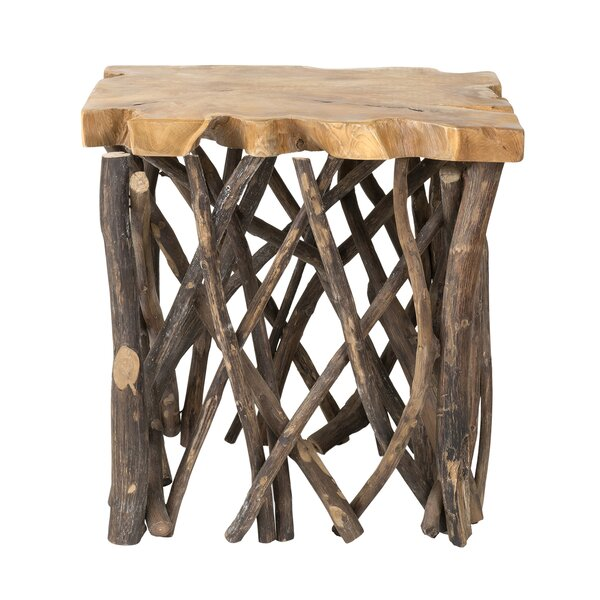 Staggs End Table by Millwood Pines