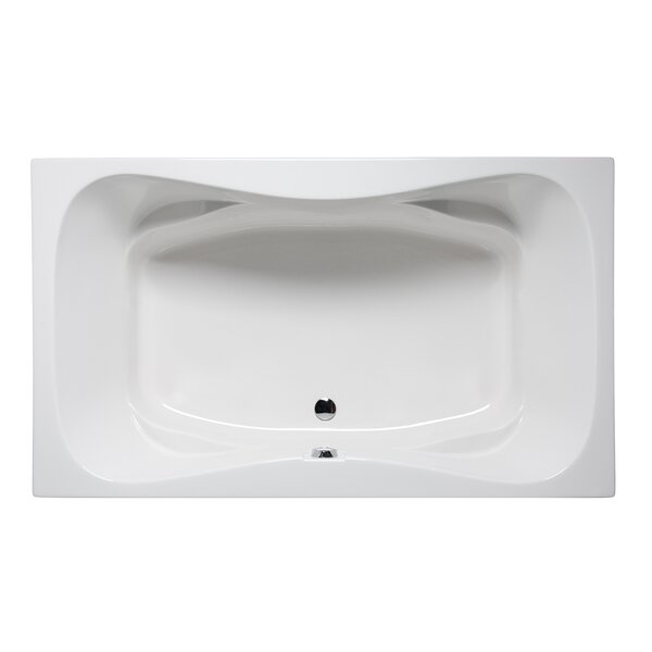 Rampart II 72 x 42 Drop in Soaking Bathtub by Americh