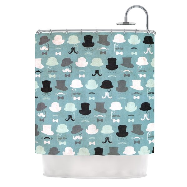 Hats Off To You by Heidi Jennings Shower Curtain by East Urban Home