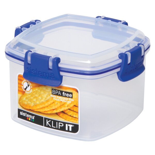 Klip It Cracker Food Storage Container by Sistema USA