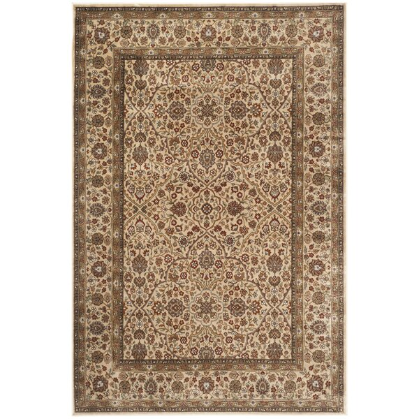 Petronella Ivory Area Rug by Charlton Home