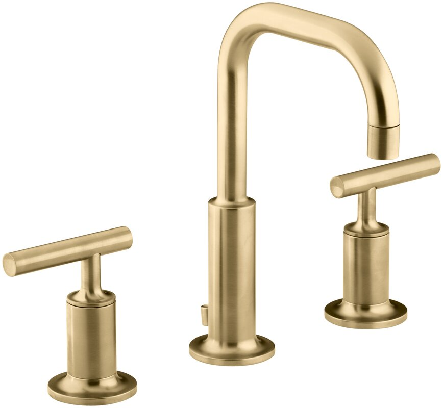 Purist Widespread Bathroom Sink Faucet