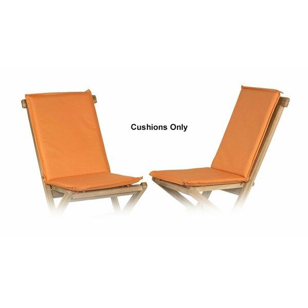 Indoor/Outdoor Adirondack Chair Cushion (Set of 2)
