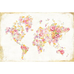Midsummer World Graphic Art on Wrapped Canvas by East Urban Home