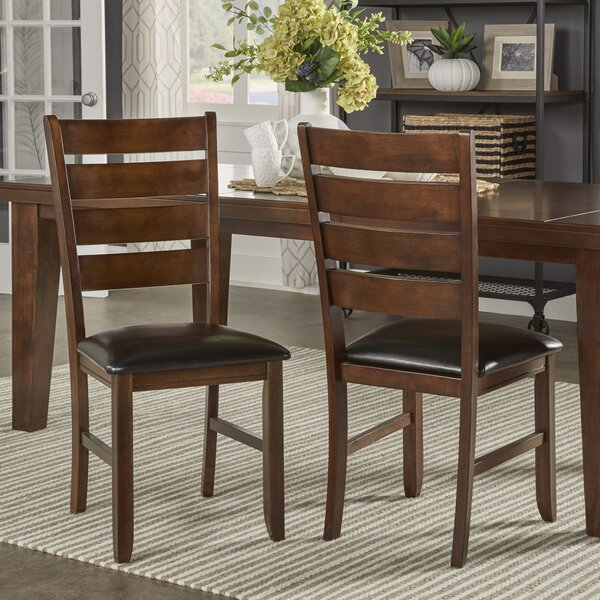 Delphine Upholstered Dining Chair (Set of 2) by Winston Porter