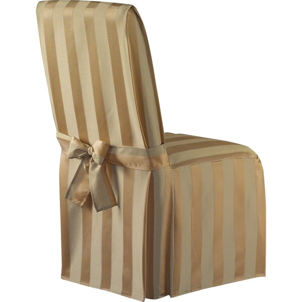 Box Cushion Dining Chair Slipcover By Astoria Grand
