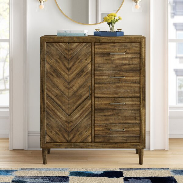 Isabella 4 Drawer Chest by Foundstone