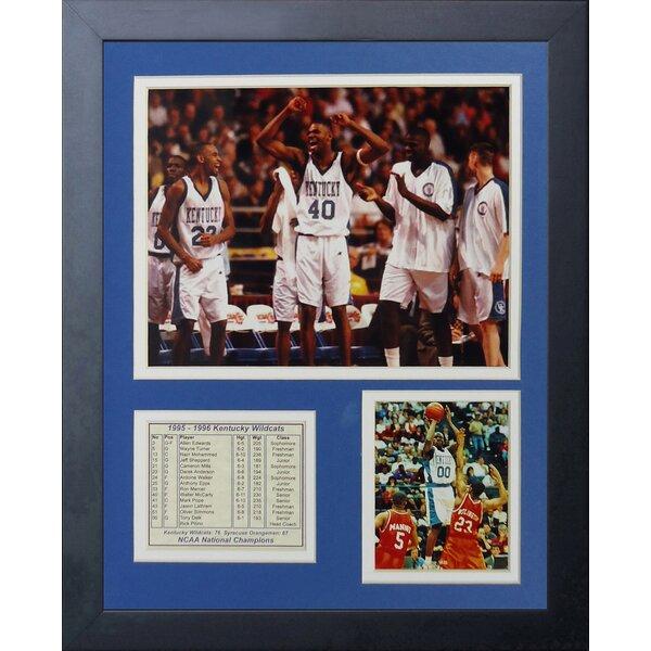 1996 Kentucky Wildcats Champions Framed Memorabilia by Legends Never Die