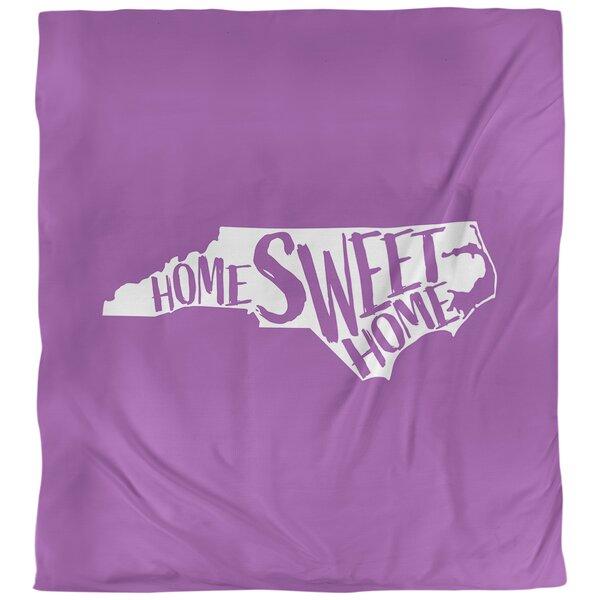 Home Sweet North Carolina Duvet Cover