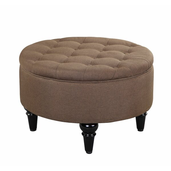 Cangelosi Tufted Storage Ottoman by Charlton Home