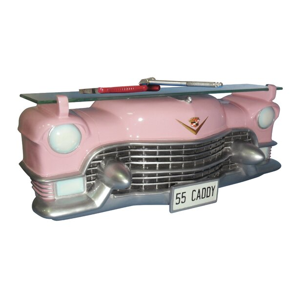 1955 Cadillac Fleetwood Shelf with Tempered Glass by Hi-Line Gift Ltd.