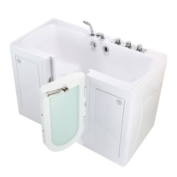 Tub4Two Heated Seat 60 x 30 Walk-in Combination Bathtub by Ella Walk In Baths